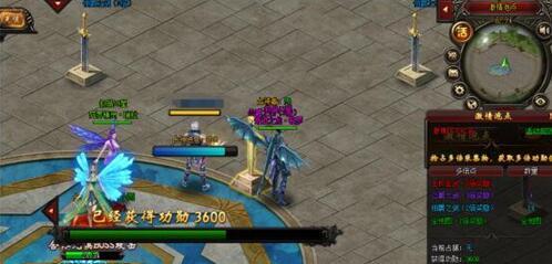 在线网页游戏《猎魔战纪》激情泡点,挂机即可获取海量经验