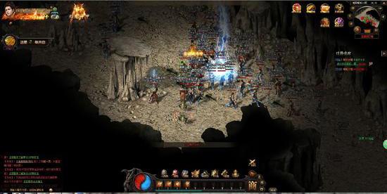有趣的打BOSS网页游戏《传奇霸主》恶魔广场路线揭秘_天天有豪礼
